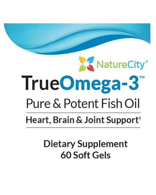 TrueOmega-3 - Pure & Potent Fish Oil