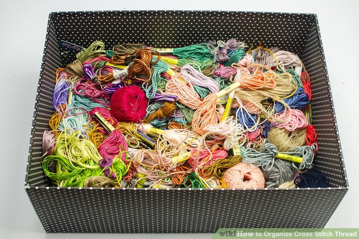 How to Organize Cross Stitch Thread
