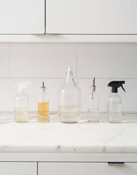The Organized Sink: 3 Rules for Decanting Kitchen Cleaning Products, Plus 5 Bottles to Buy