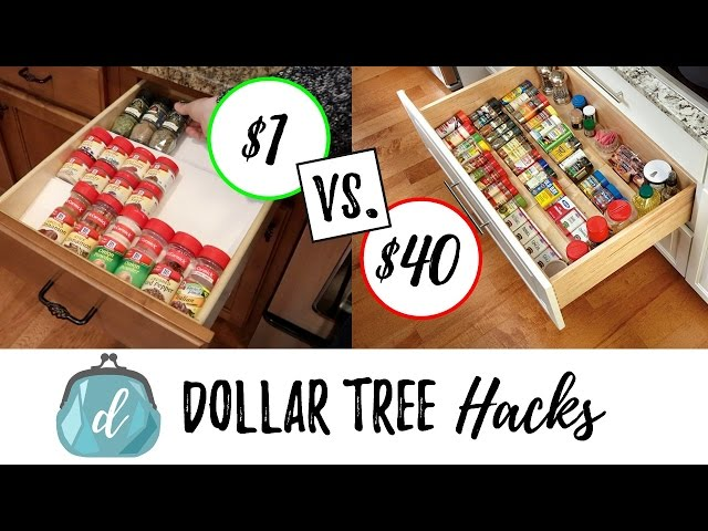 "It's a kitchen organization video! I will have lots more ""hack"" videos to come that help save your family money"