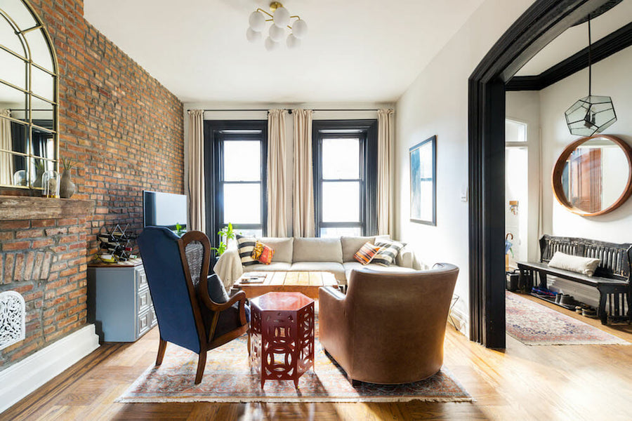 Living space and rental come together in this Brooklyn brownstone renovation