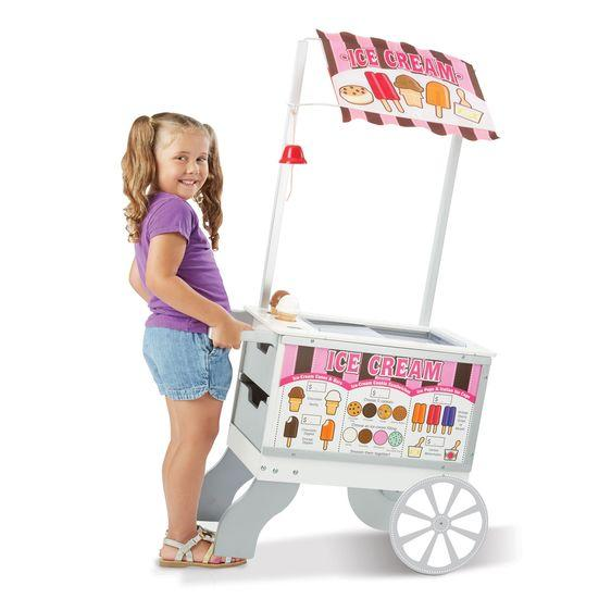Ice Cream Counter Cart