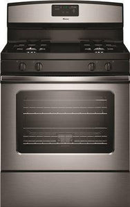 Amana 30-Inch 5 Cu. Ft. Single Oven Free-Standing Gas Range' Stainless