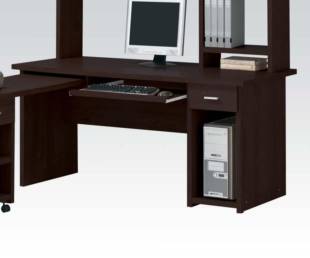 Acme 04692 Linda Computer Desk with Drawer in Espresso