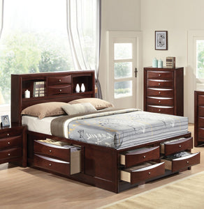 Acme 21590F Ireland Espresso Full Storage Bed with Drawers