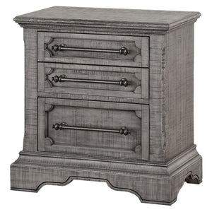 Acme 27103 Artesia Natural Wood Finish Contemporary Nightstand