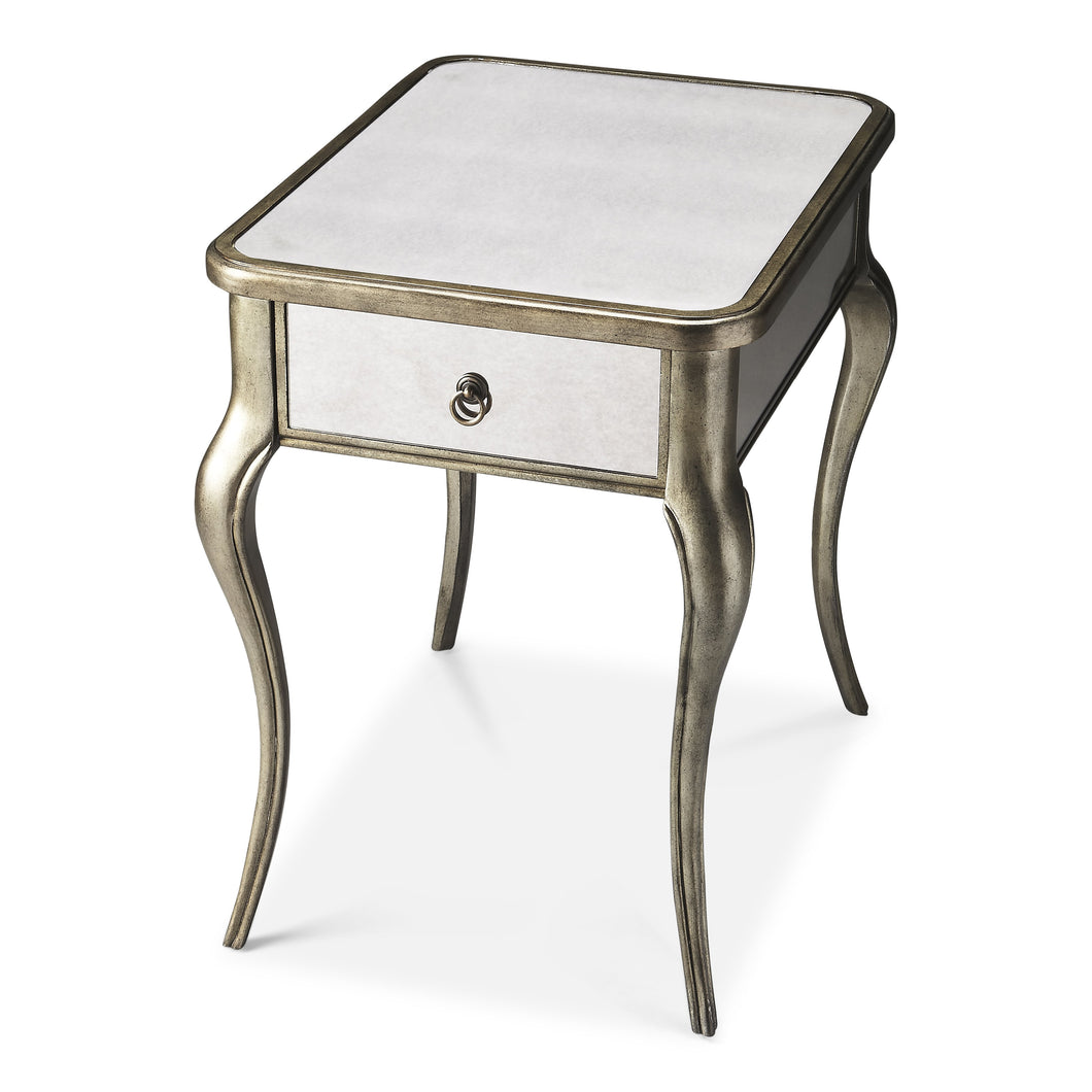Madeleine Mirrored Side Table