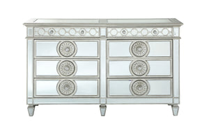 Acme Glam Varian Dresser With Mirrored Finish 26155