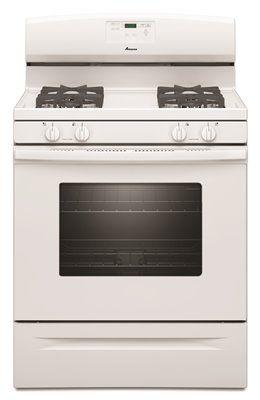 Amana 30-Inch 5.0 Cu. Ft. Single Oven Free-Standing Gas Range' White