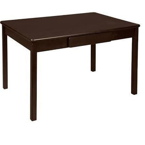 046ESP 23 x 36 x 24 in. Arts & Craft Table - Espresso