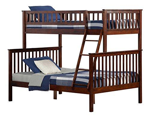 Atlantic Furniture Woodland Bunk Bed 6/Walnut