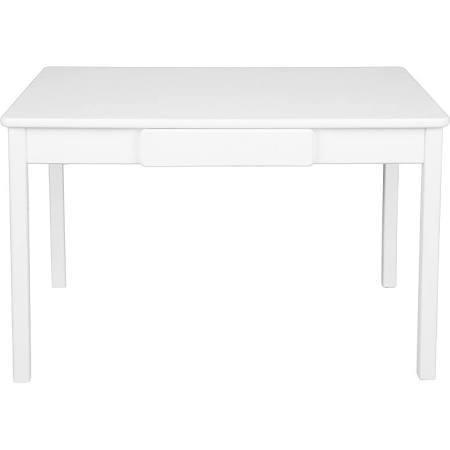046SW 23 x 36 x 24 in. Arts & Craft Table - Solid White