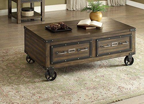 Brassex 273-02, Walnut Ambassador Coffee Table