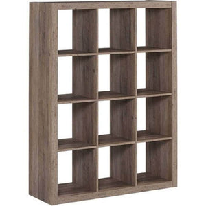 Explore better homes and gardens bookshelf square storage cabinet 4 cube organizer weathered white 4 cube rustic gray 12 cube