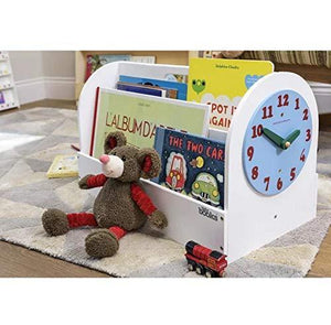 Exclusive tidy books kids bookshelf kids books storage box book display wooden box white 13 8 x 21 7 x 12 2 in eco friendly handmade the original tidy books box