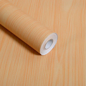 Discover f u wood grain contact paper self adhesive shelf liner covering for countertop kitchen cabinets wall table door desk yellow 17 7 w x 393 l