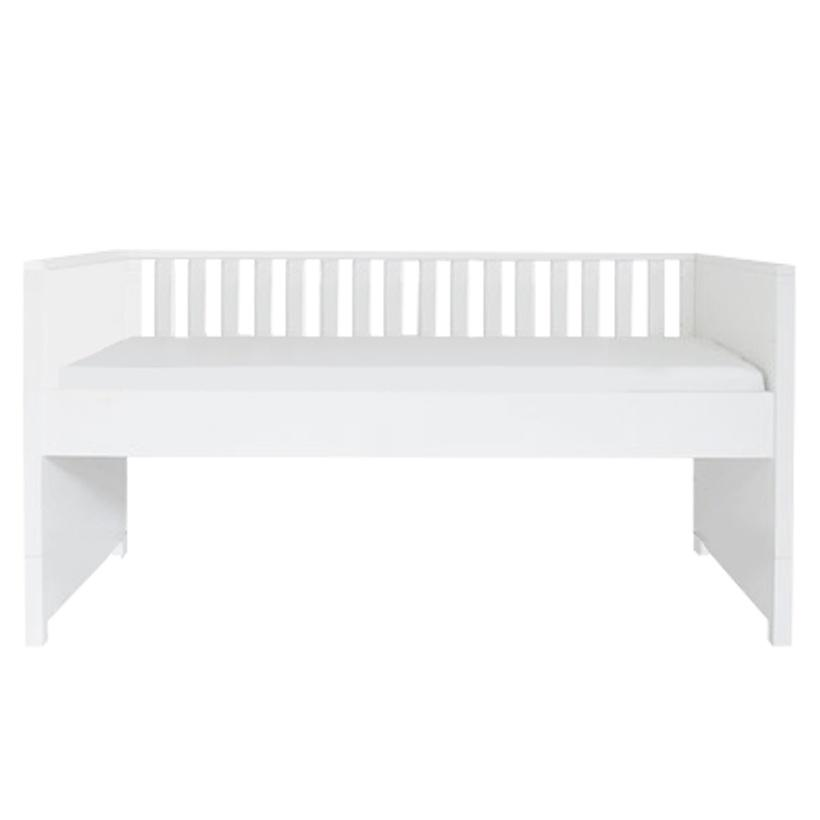 Compact Bed Single Size Nordic White