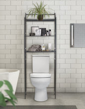 Load image into Gallery viewer, Buy now sorbus bathroom storage shelf over toilet space saver freestanding shelves for bath essentials planters books etc