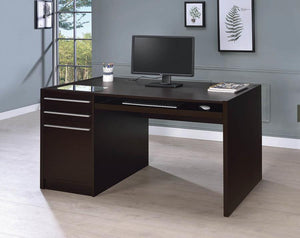 Cappuccino Office Desk