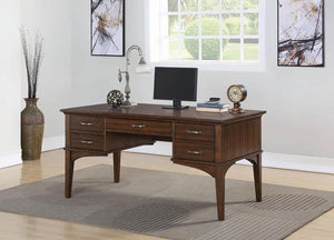 Golden Brown Office Desk
