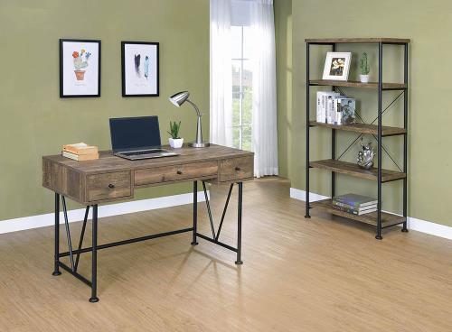 Analiese Rustic Oak Office Desk