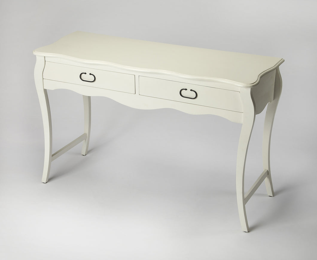 Rochelle White Console Table
