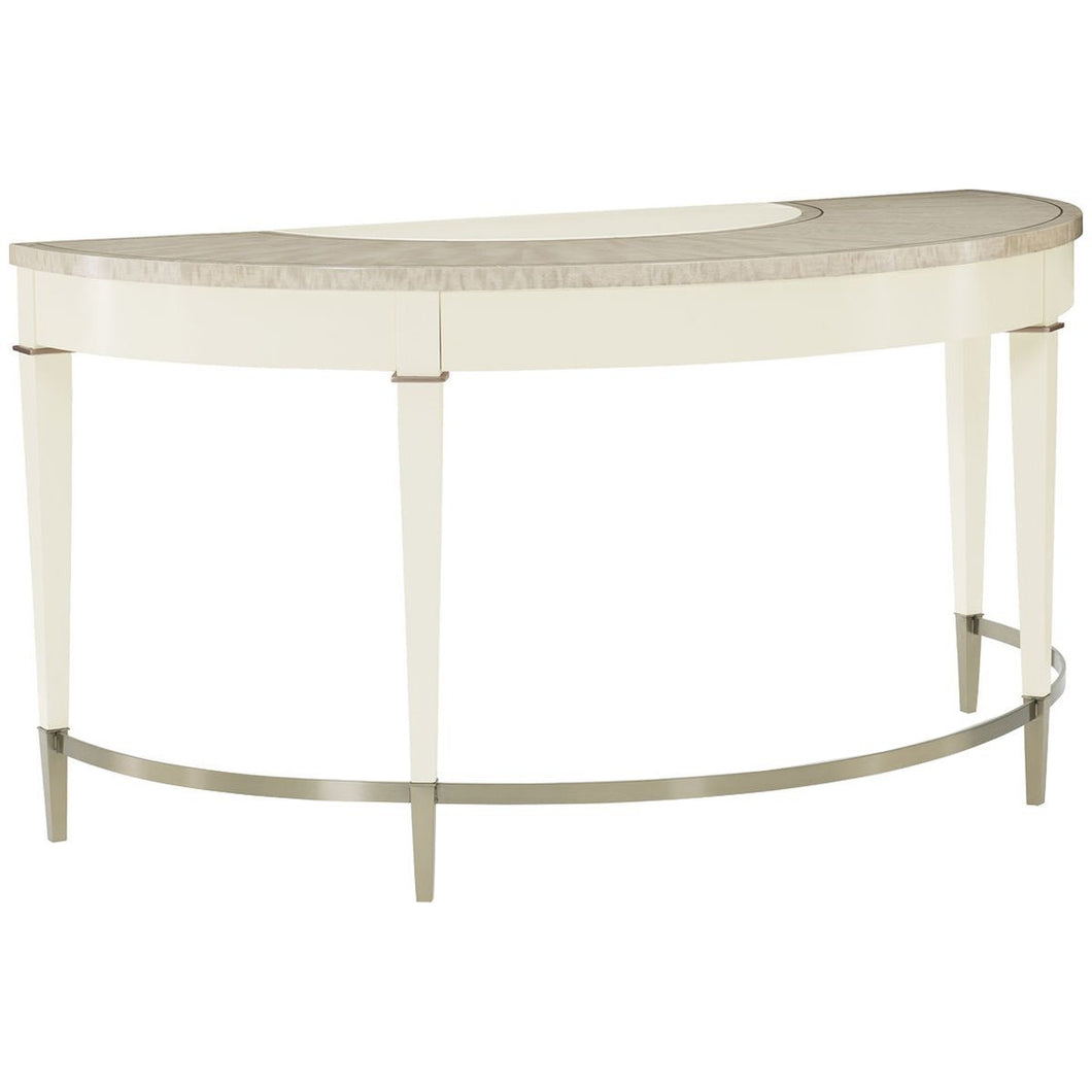 Caracole Classic Half The Time Console Table