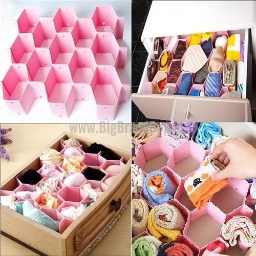 8 Partition Multipurpose Storage Drawer Organizer