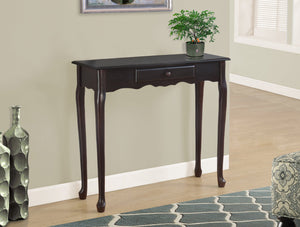 "36"" LONG DARK CHERRY HALL CONSOLE"