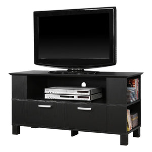 44 in. Coronado Wood TV Console - Black