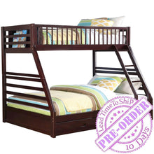Load image into Gallery viewer, Acme Furniture Jason Twin/Full Bunk Bed - Espresso