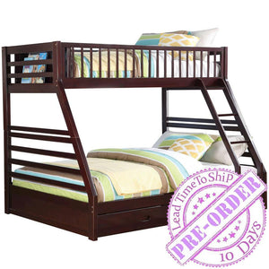 Acme Furniture Jason Twin/Full Bunk Bed - Espresso