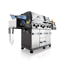 Load image into Gallery viewer, Broil King Imperial XLS with Side Burner, Rear Rotisserie Burner, and Rotisserie Kit