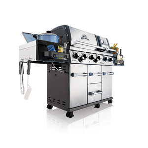 Broil King Imperial XLS with Side Burner, Rear Rotisserie Burner, and Rotisserie Kit
