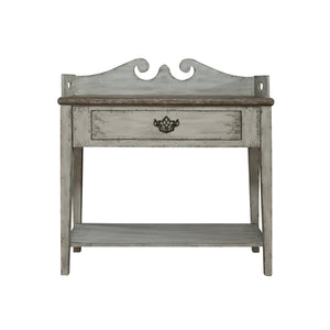 Accentrics Home Sophia Weathered Grey Accent TableDS-P050057