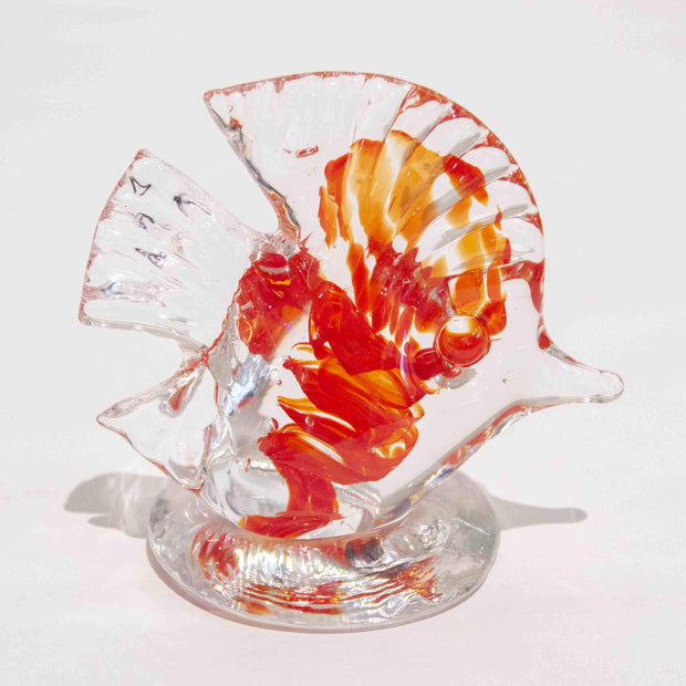 handcrafted art glass fish