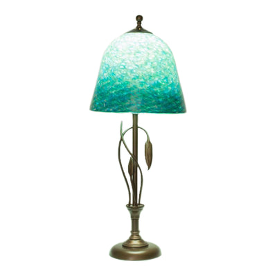 Forged Leaves Vase Table Lamp