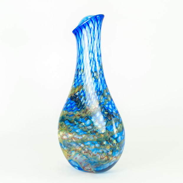 Dragon Scale Teardrop Vase