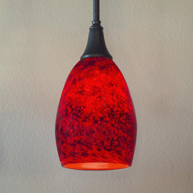 art glass kitchen pendant
