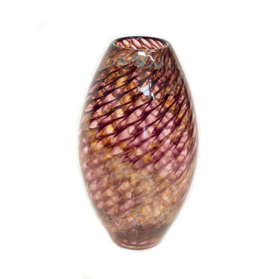 Purple Dragon Scale Bullet Vase