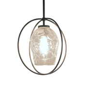 Rhythm Round Cage Pendant Small