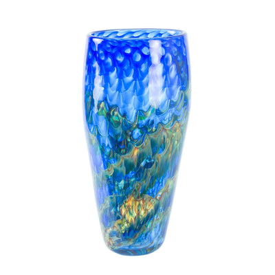 Dragon Scale Flat Taper Vase