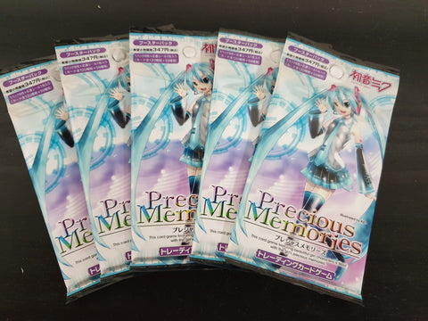 Hatusne Miku - Precious Memories - 5 booster packs