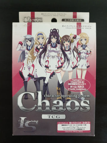 Infinite Stratos (IS) - Chaos TCG - Trial Deck