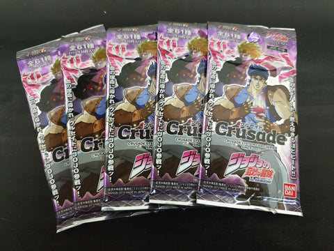 JoJo's Bizarre Adventure - Crusade - 5 booster packs