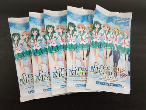 Natsuiro Kiseki - Precious Memories - 5 booster packs