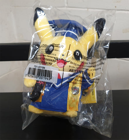 Poke Plush Standard - Pokemon Center - Graduate Pikachu