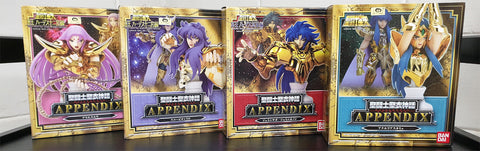 Saint Seiya - Appendix - 9 toy / figure set!