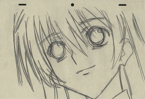 Special A - 15 piece genga / sketch set - Hikari Hanazono and more
