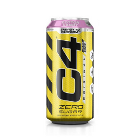 C4 Carbonated RTD 473ml - Cotton Candy - 12 Pack